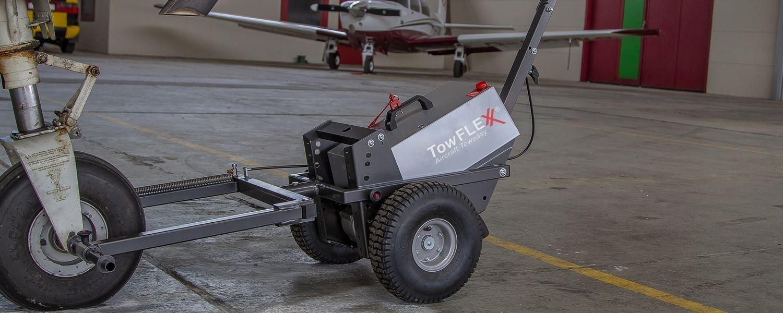 Towflexx TF2 der elektrische Flugzeugschlepper