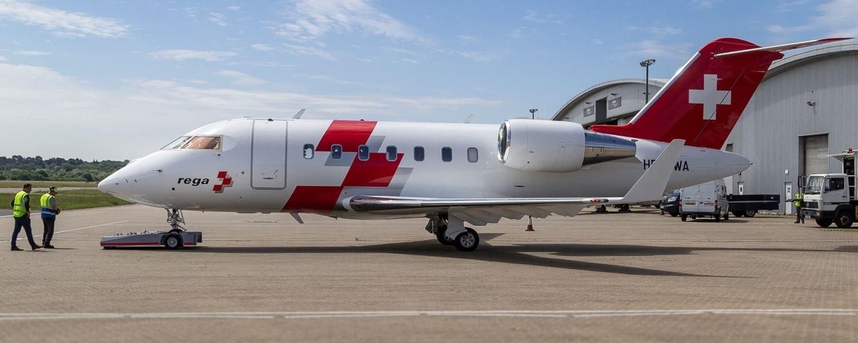 Towflexx TF5 schleppt Rega Jet