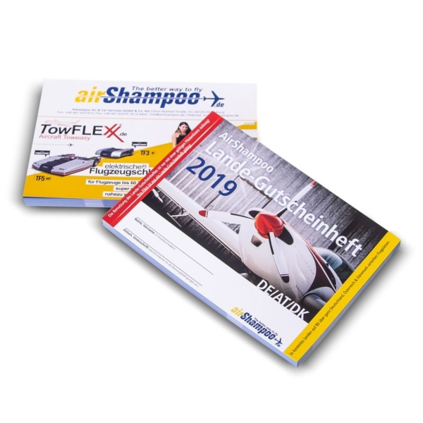 Landing Voucher Booklet by AirShampoo