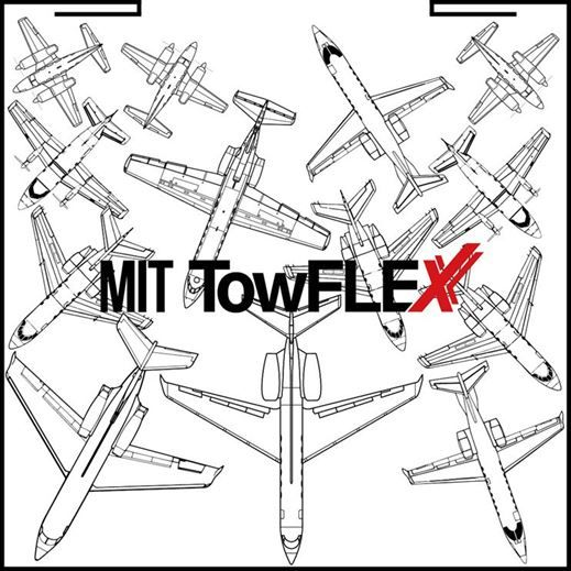 Flugzeuganordnung mit TowFLEXX Flugzeugschleppern