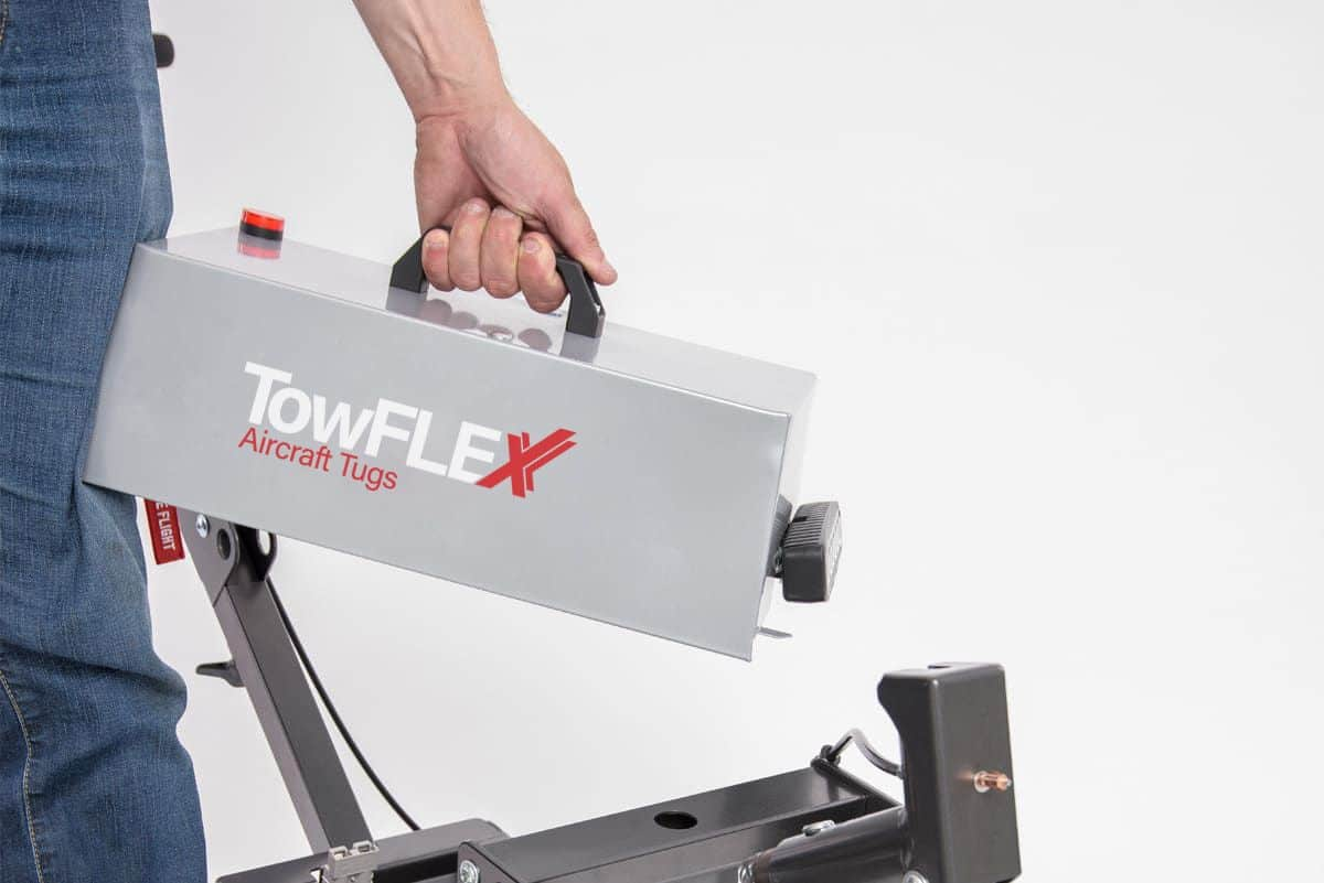 Replacement Battery Pack for Towflexx TF2 is easy to remove