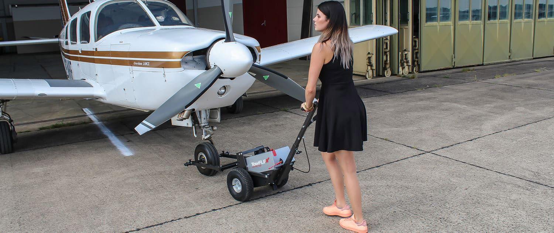 Towflexx TF2 easy to move Aircraft Tug