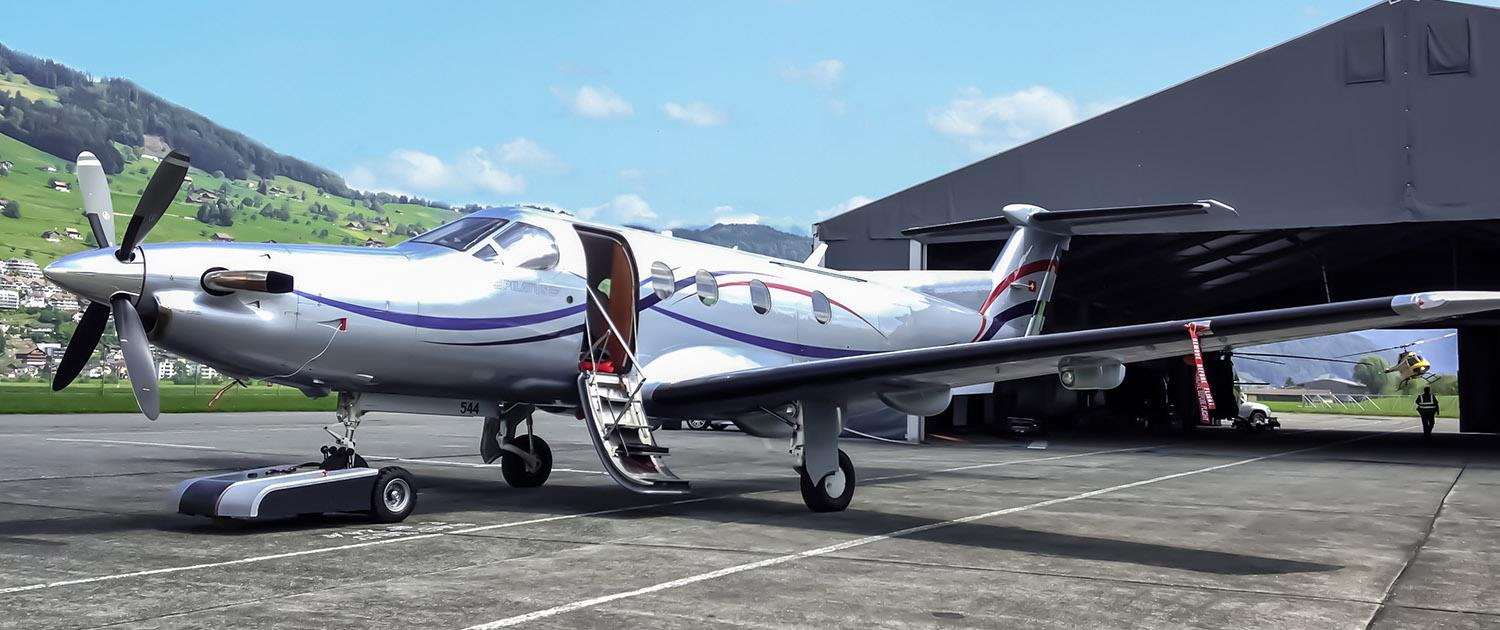 TowFLEXX TF3 with Citation Jet in Switzerland