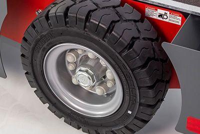 Full Rubber Tires