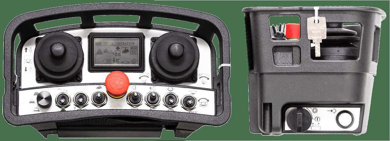 Funkfernsteuerung des TowFLEXX TF5